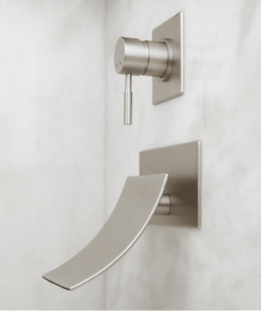 Reston Wall Mount Waterfall Tub Faucet Your Bath Store