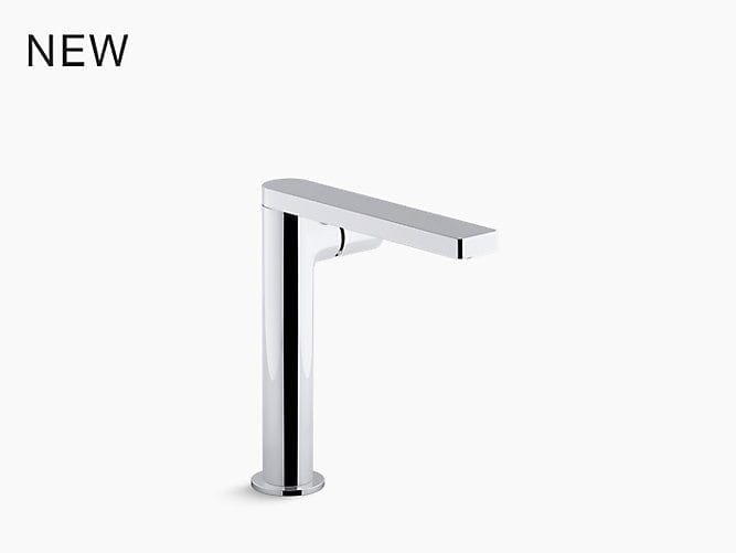Composed 174 Tall Single Handle Bathroom Sink Faucet With